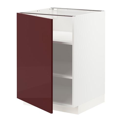 METOD kabinet dasar dengan rak