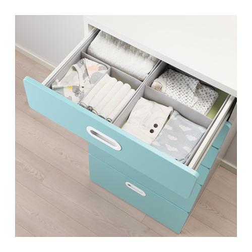 FRITIDS/STUVA chest of 6 drawers