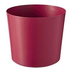 OMFÅNG - Pot tanaman, dalam/luar ruang merah tua