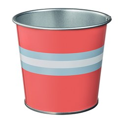 KAKIPLOMMON - Plant pot, in/outdoor red-pink
