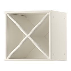 TORNVIKEN - Wine shelf, off-white