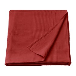 INDIRA - Bedspread, red-orange