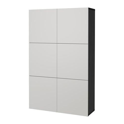 BESTÅ kombinasi penyimpanan dengan pintu