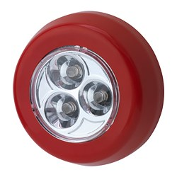 RAMSTA - LED minilamp, battery-operated red