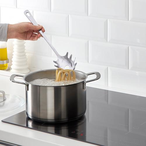 GRUNKA - 4-piece kitchen utensil set, stainless steel | IKEA Indonesia - PE610132_S4