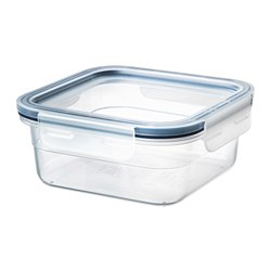 IKEA 365+ - Food container with lid, square/plastic