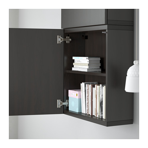 BESTÅ kabinet dinding dengan 2 pintu