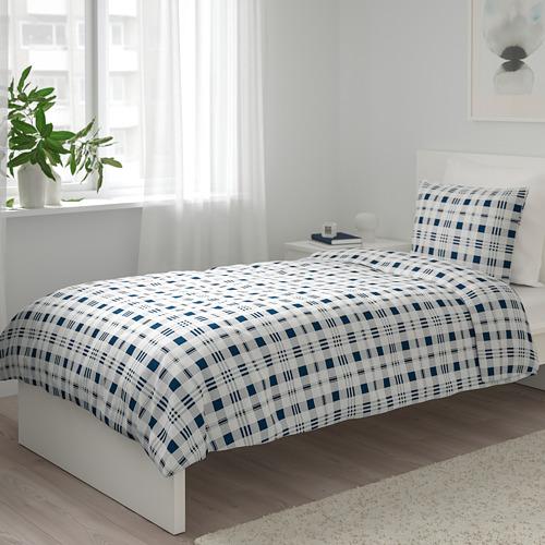 SPIKVALLMO duvet cover and pillowcase