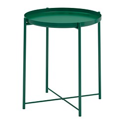 GLADOM - Tray table, green
