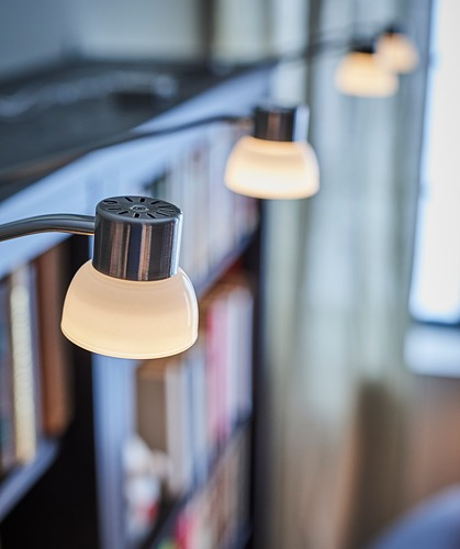 LINDSHULT - lampu kabinet LED, dilapisi nikel | IKEA Indonesia - PH155463_S4