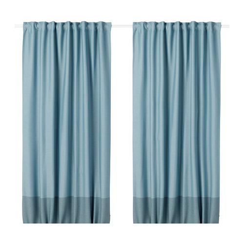 MARJUN room darkening curtains, 1 pair