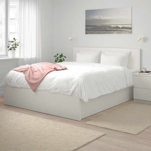 MALM tempat tidur ottoman