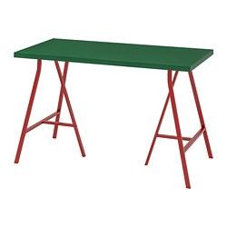 LERBERG/LINNMON - Meja, hijau/merah