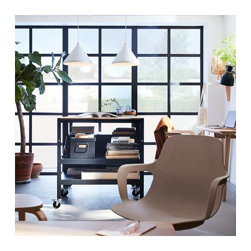 NÄVLINGE - lampu gantung, putih, 33 cm | IKEA Indonesia - PH165574_S4