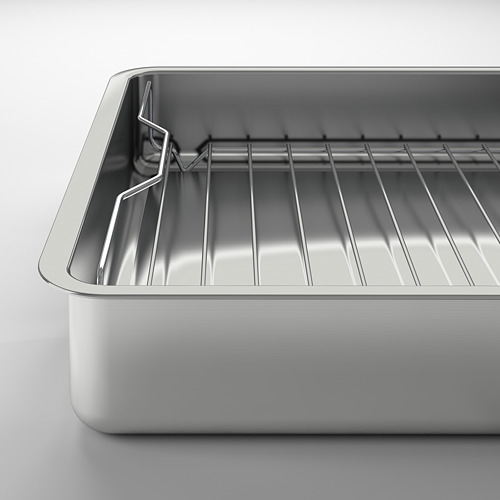 KONCIS roasting tin with grill rack