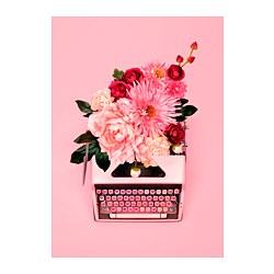 PJÄTTERYD - Gambar, Pink typewriter