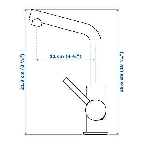 LUNDSKÄR keran mixer wastafel dg penyaring