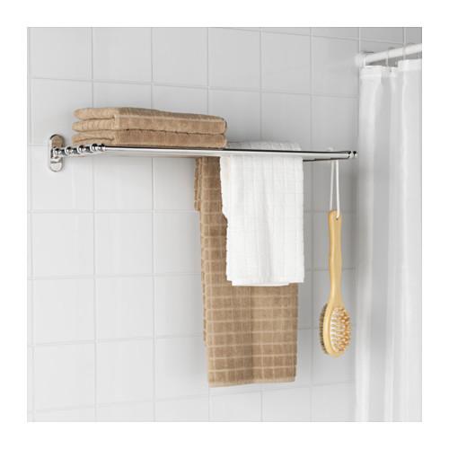 VOXNAN rak dinding dengan gantungan handuk