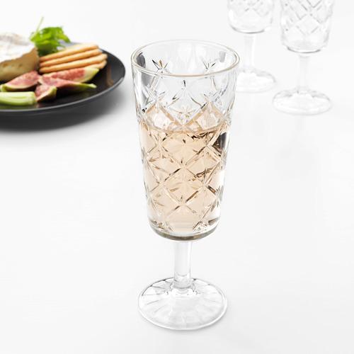 FLIMRA champagne glass
