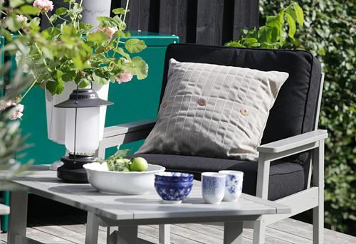 STORHAGA - Lampu meja LED, dapat diredupkan luar ruang/hitam, 35 cm | IKEA Indonesia - PH168897_S4