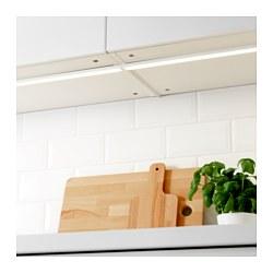 OMLOPP - Lampu meja dapur LED, putih