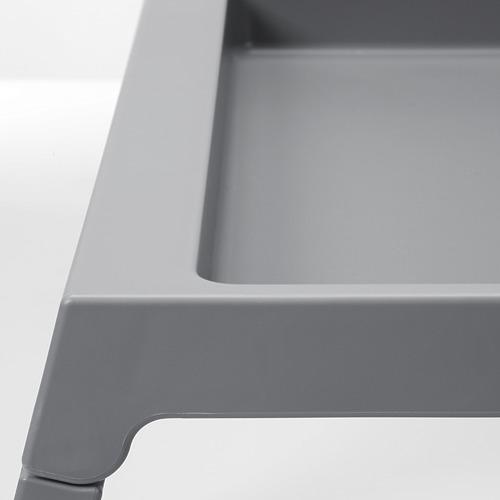 KLIPSK - bed tray, grey | IKEA Indonesia - PE633474_S4