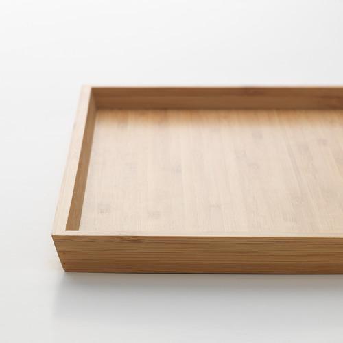 OSTBIT - tray, bamboo, 25x33 cm | IKEA Indonesia - PE660749_S4