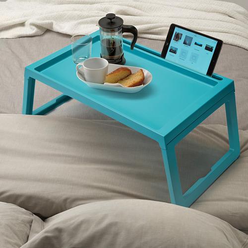 KLIPSK - bed tray, turquoise | IKEA Indonesia - PE684735_S4