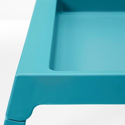 KLIPSK - bed tray, turquoise | IKEA Indonesia - PE684736_S4
