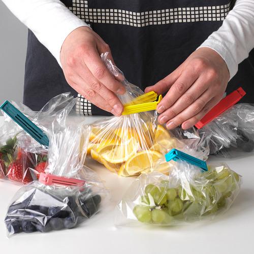 BEVARA - klip penutup plastik, set isi 30, warna campuran/ukuran campuran | IKEA Indonesia - PE608671_S4