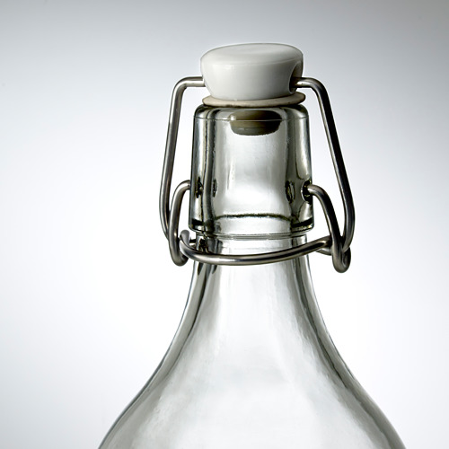 KORKEN bottle with stopper