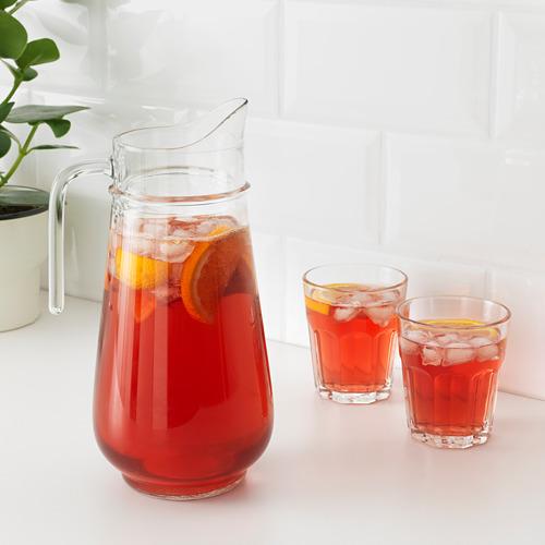 TILLBRINGARE - jug, clear glass, 1.7 l | IKEA Indonesia - PE669366_S4
