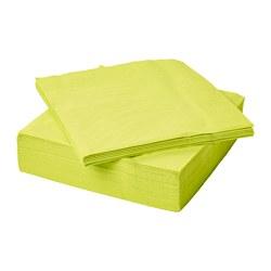 FANTASTISK - Paper napkin, light green