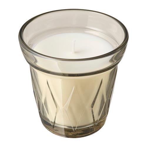 VÄLDOFT lilin beraroma dalam gelas
