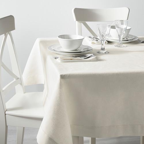 GULLMAJ - tablecloth, lace white, 145x240 cm | IKEA Indonesia - PE607130_S4