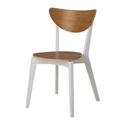NORDMYRA - Kursi, bambu/putih