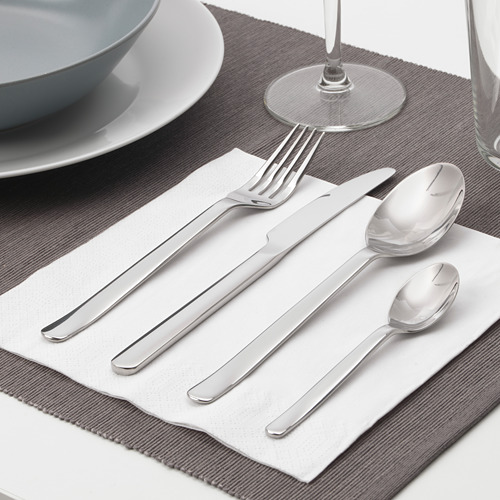IKEA 365+ peralatan makan, set isi 24
