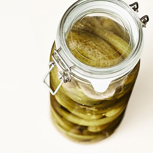 KORKEN jar with lid