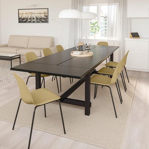 NORDVIKEN/LEIFARNE meja dan 6 kursi