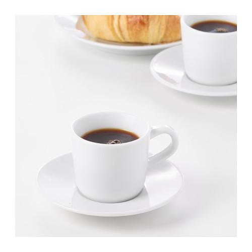 IKEA 365+ espresso cup and saucer