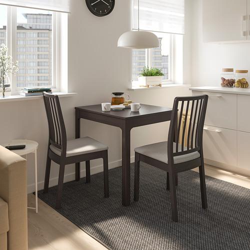 EKEDALEN/EKEDALEN meja dan 2 kursi