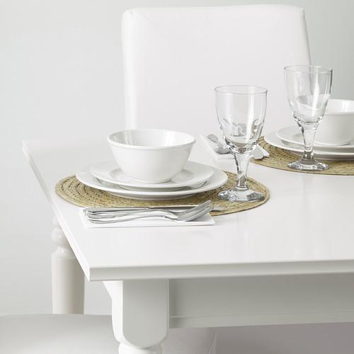 SLUTEN - place mat, palm leaf/natural, 37 cm   IKEA Indonesia - PE639900_S4