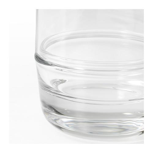 SAMMANHANG kubah kaca dengan dasar, set isi 2