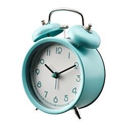 PLIRA - Alarm clock, turquoise