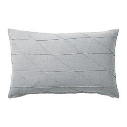 HARÖRT - Cushion, grey