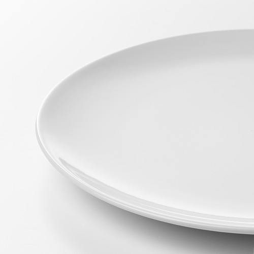 FLITIGHET - piring, putih, 26 cm | IKEA Indonesia - PE628854_S4