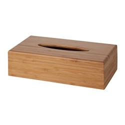 BONDLIAN - Box for tissues, bamboo
