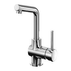 LUNDSKÄR - Wash-basin mixer tap with strainer, chrome-plated
