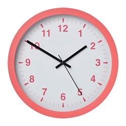 TJALLA - Wall clock, pink