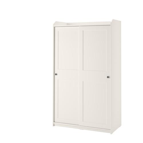 HAUGA lemari pakaian dg pintu geser
